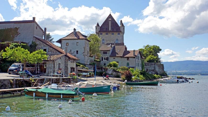 Lake Geneva, one of the most beautiful lakes of Europe