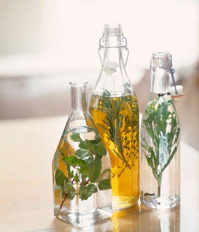 Ecological detergent with vinegar