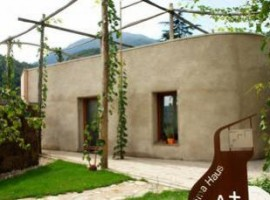 Residence Esserhof, an example of how straw houses can become an eco-friendly accommodations