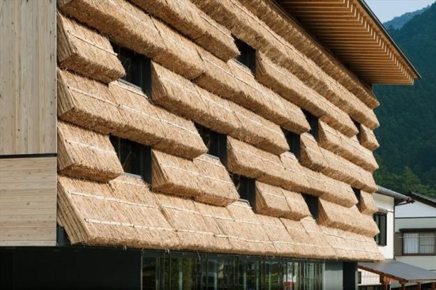 Kengo Kuma's straw house