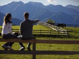 Magical landscape in Val di Non, unusual accommodations