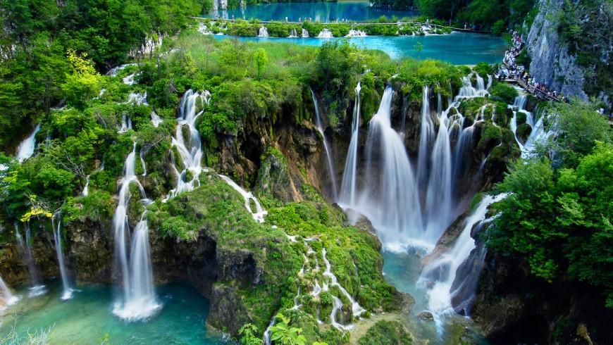 Waterfalls of Plitvice, Croatia