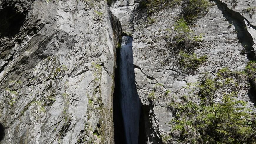 Schwarzbach Waterfalls, Ahrntal
