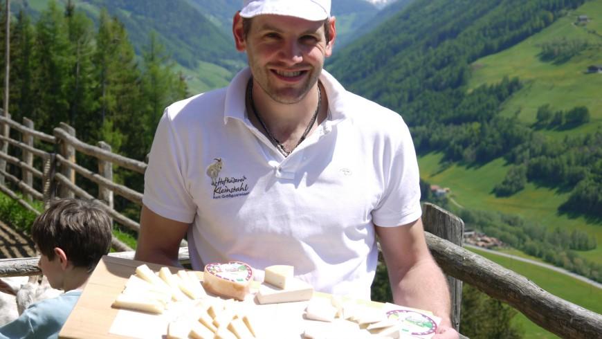 Young farmer in Ahrntal