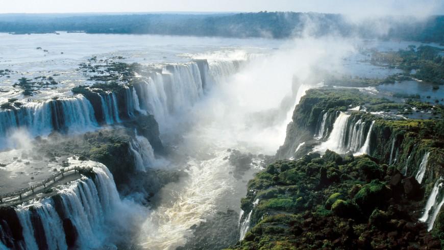 Iguazu Falls, Argentina - Brazil