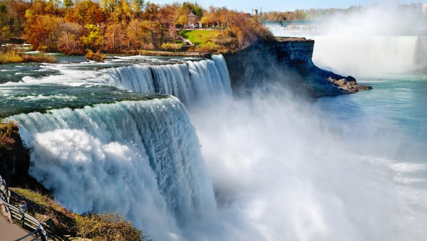 Niagara Falls, Canada - USA