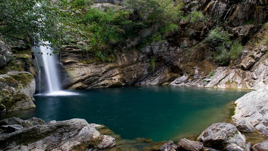 Gonfalone Waterfalls, Emilia Romagna