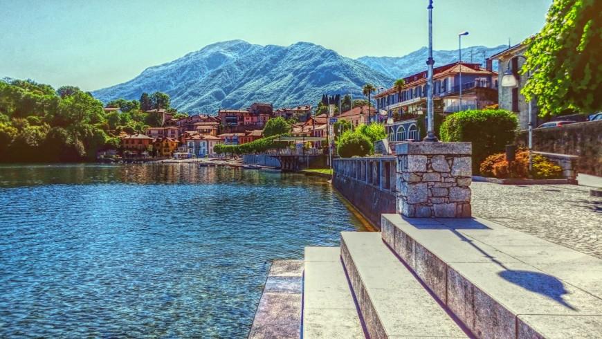 Lake Mergozzo, Piedmont