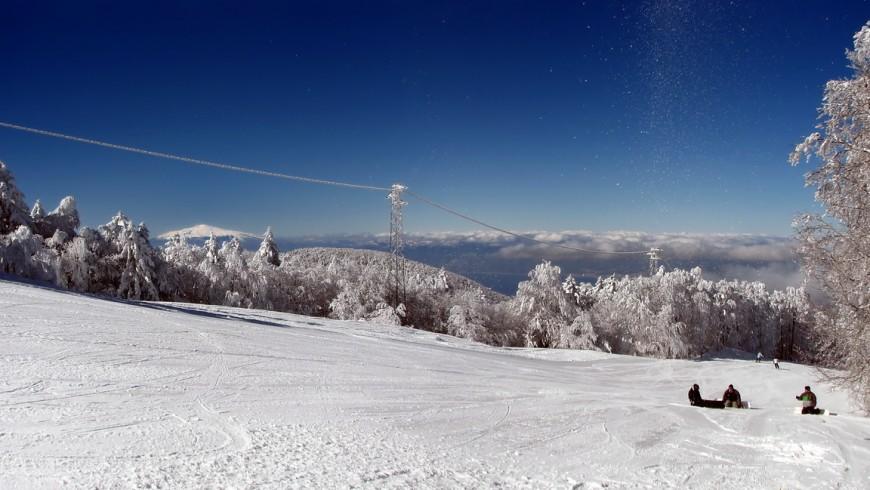 Gambaria, skiing in Calabria