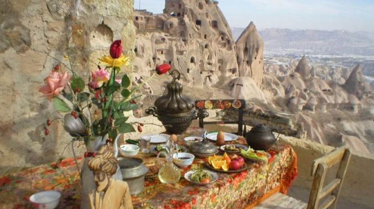 old cappadocian stone house, for your digital detox holiday