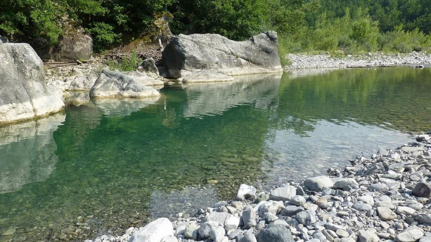 River Ceno, Emilia Romagna