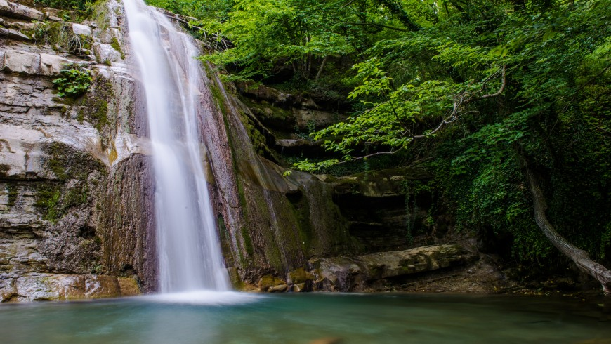 Acquacheta Waterfall, Emilia Romagna