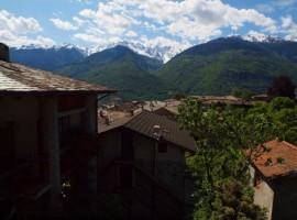 View from the B&B Via Paradiso Valtellina