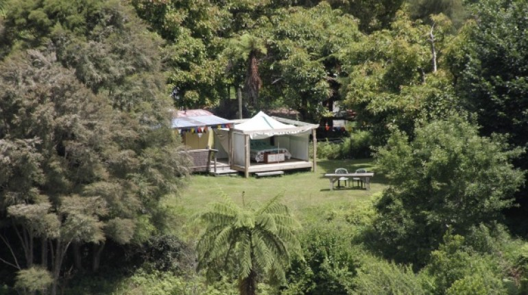 The Flying Fox, Glamping in New Zealand