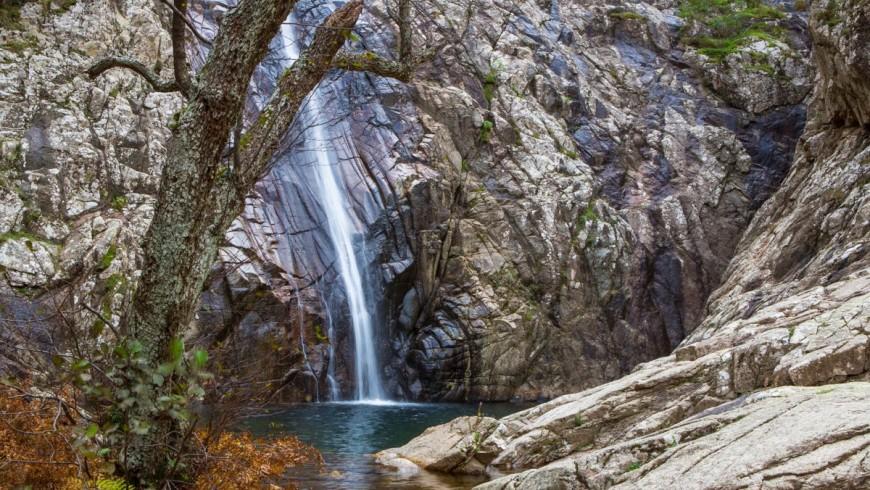 Natural pool of Irgas, Sardinia
