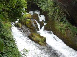 Fiumelatte waterfall, Varenna (Lecco)