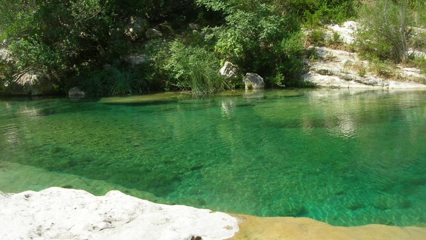 The lakes of Avola, Sicily