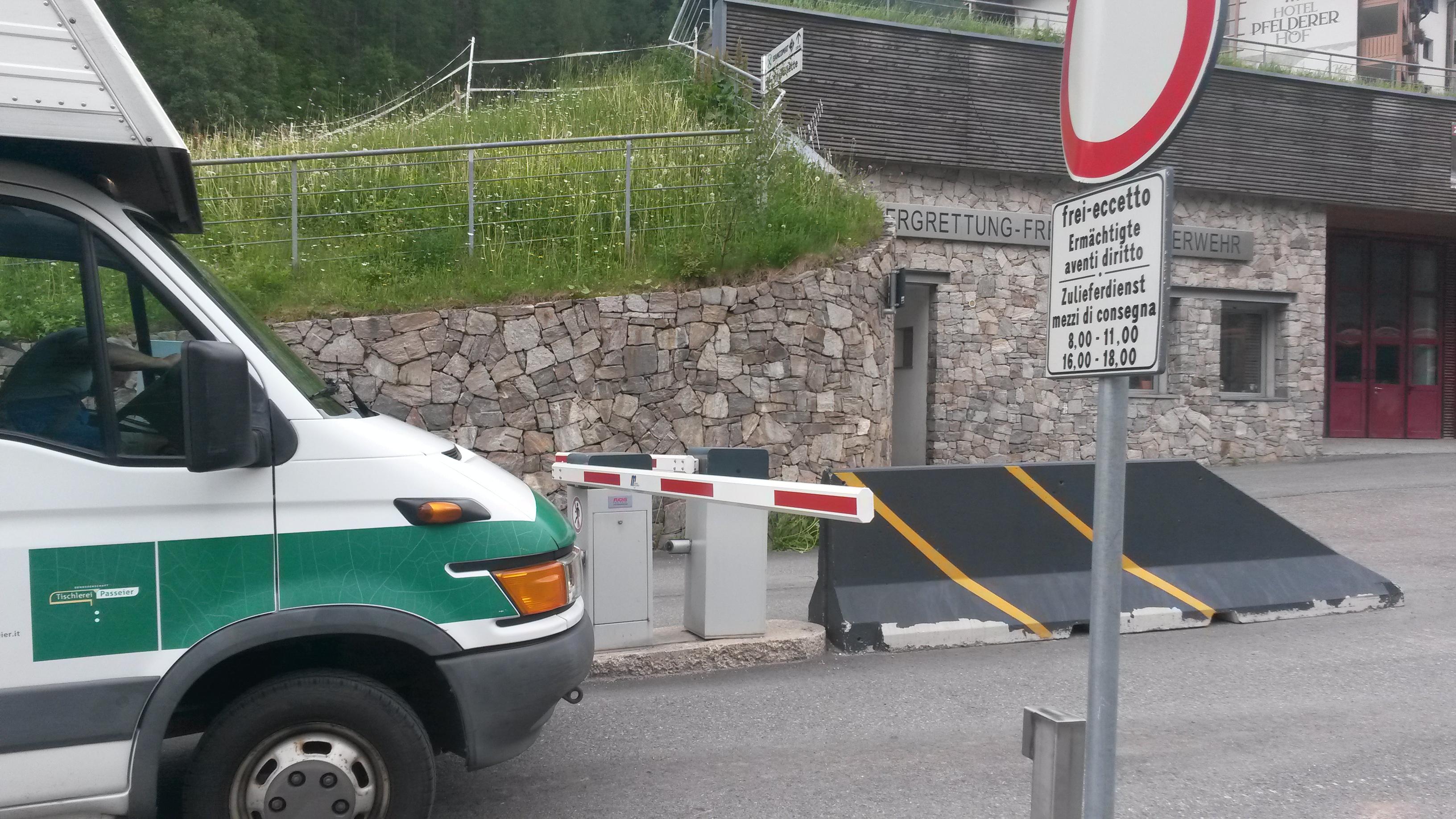 Plan in Passeiertal, carfree village