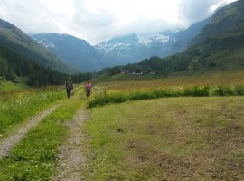 walking around Plan in Passeiertal
