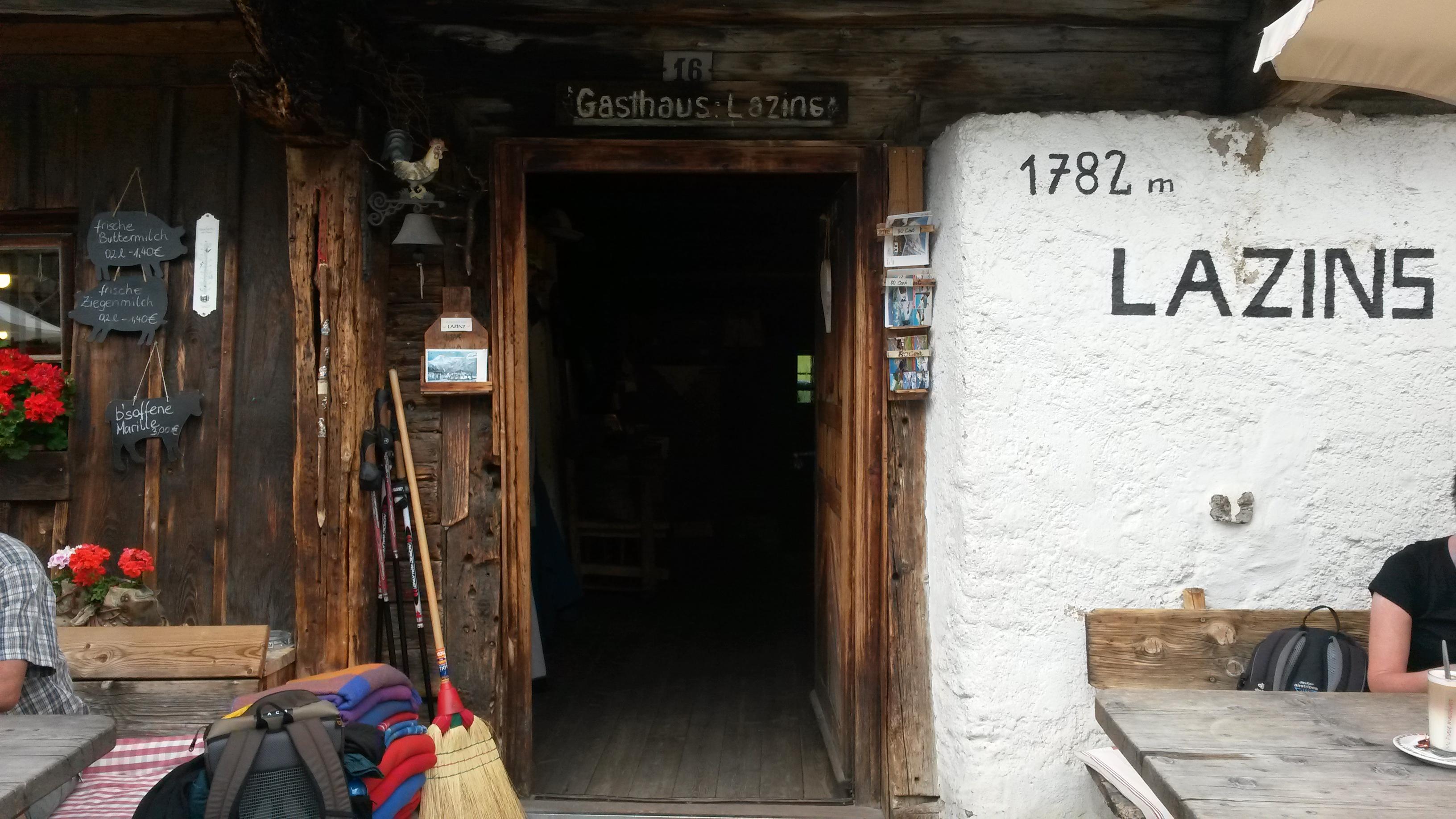 "Ancient huts ""Maso Lazins"", Passiertal, South Tyrol"