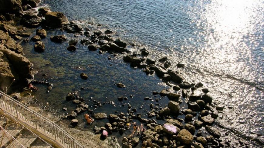 Sorgeto Bay, Campania