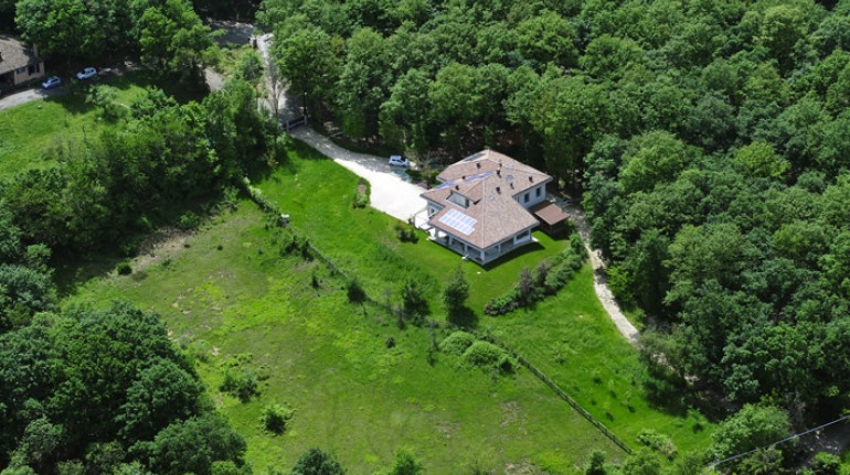 A B&B nestled in the woods in Emilia Romagna, Italy