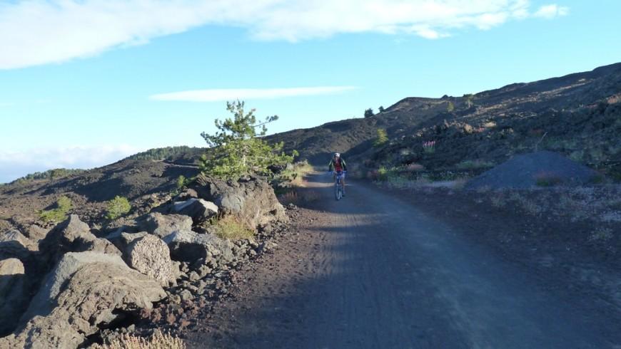 Mount Etna by mountain bike