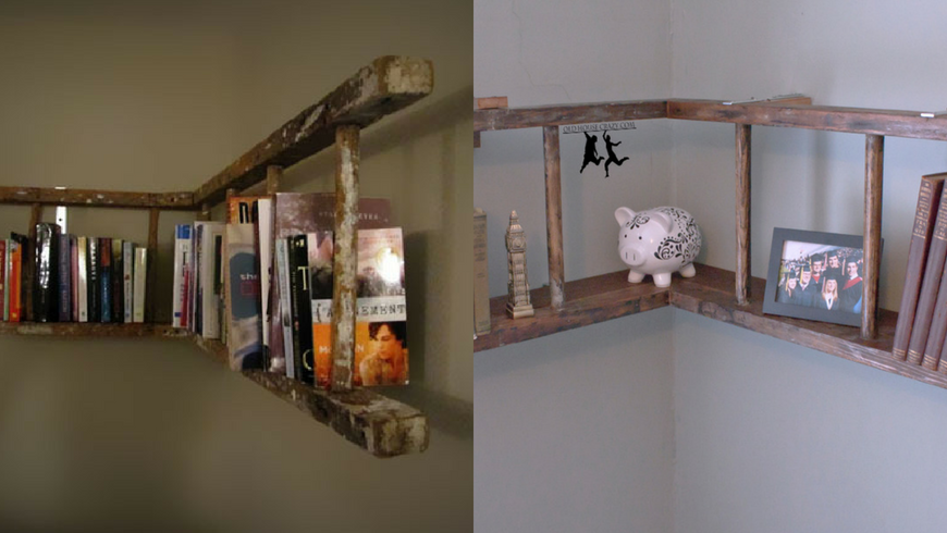 Top 10 Ladder DIY Projects