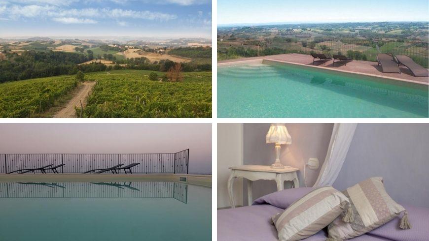 romantic getaway in Monferrato