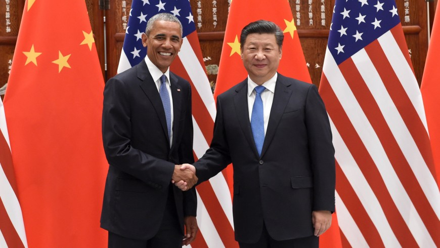 Chinese President Xi Jinping and President Barack Obama during the G20