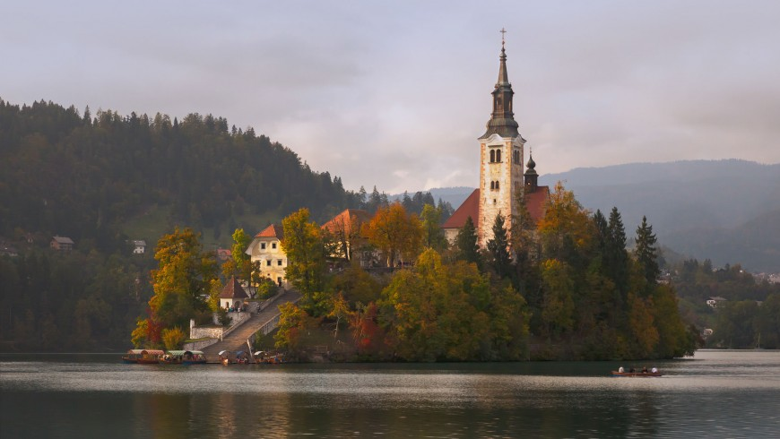Fall Foliage in Slovenia