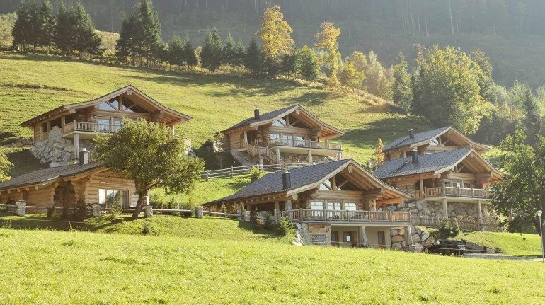 Eco-chalet in Austria