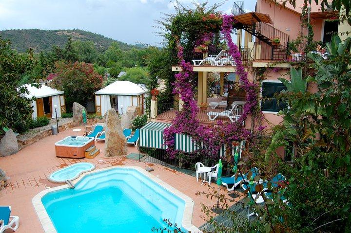 Eco-resort in Sardinia, Italy