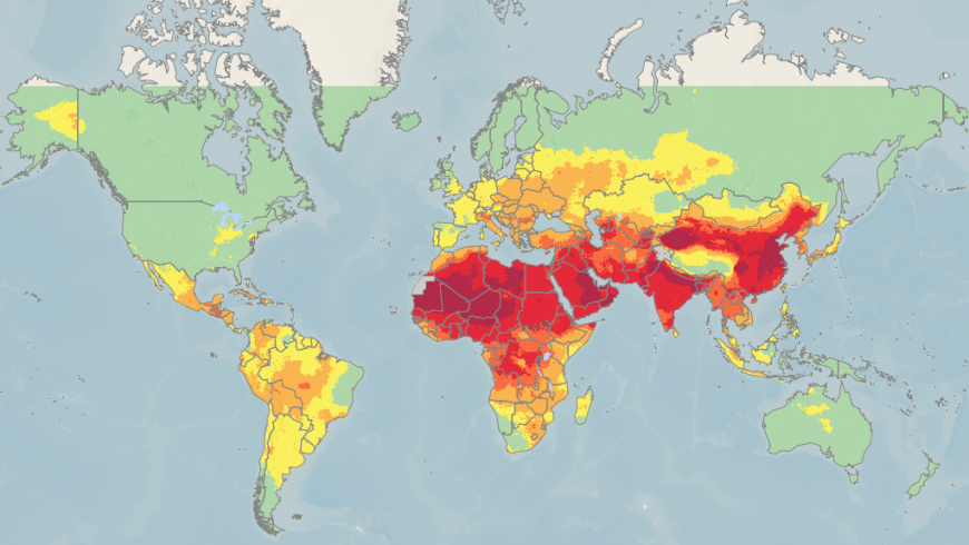 92% of the world's population breathe polluted air