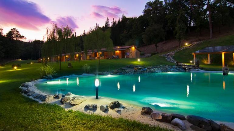 Eco-resort in Tuscany, Italy