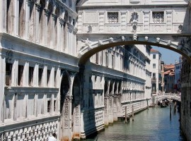 Sospiri Bridge in Venice