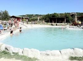 Masse di San Sisto, natural pools of Viterbo, Italy