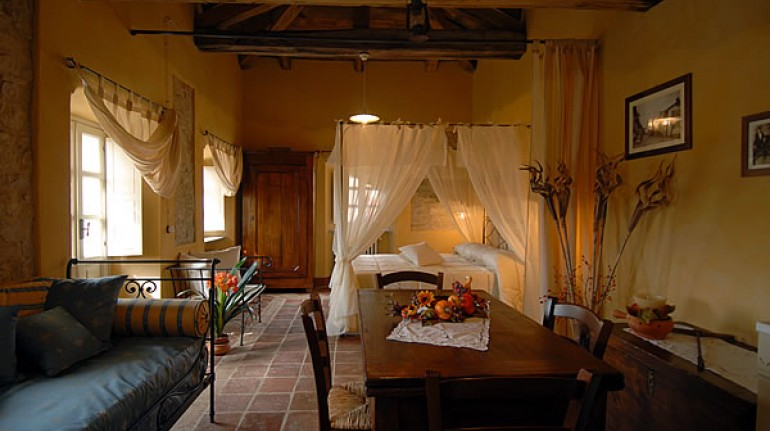A former convent converted into an eco-sustainable and romantic B&B in Piedmont
