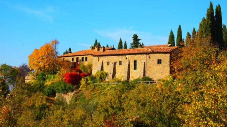 Between Tuscany and Umbria, an organic farm in a former convent