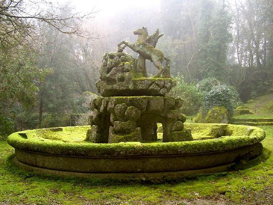 Pyramid of Bomarzo: a special place of Roman Tuscia