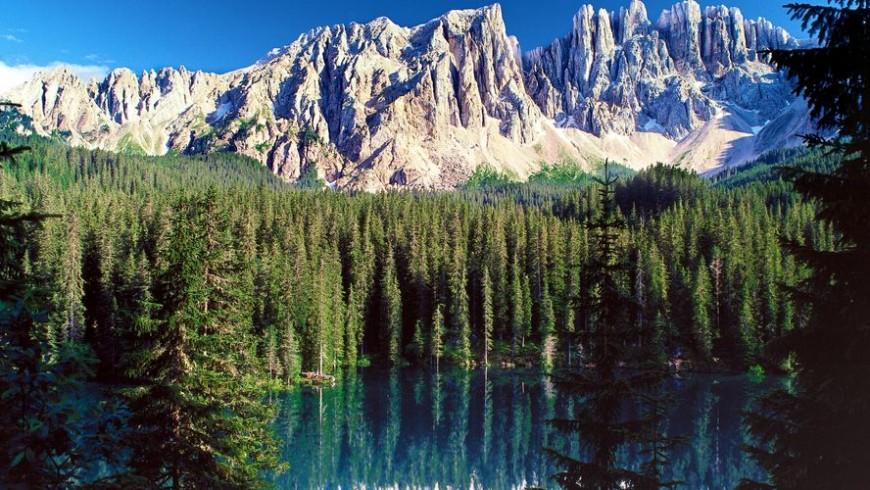 Car-free holidays in the Alpine Pearls: rosengarten-latemar-eggental