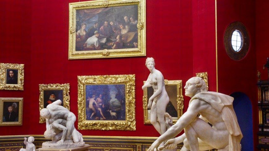 Uffizi, Florence. One of th most beautiful museums of the world