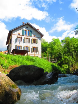 Eco-friendly accommodation in the Dolomites