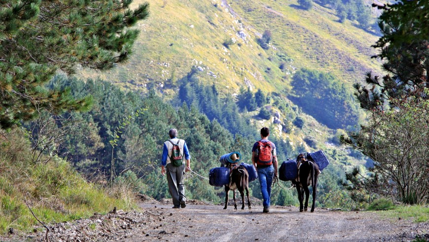 Itinerari by mountain bike From the Emilian Apennines to the sea