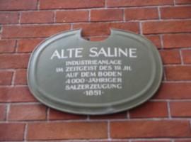 The salt mine of Bad Reichenhall