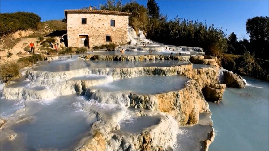 Hot springs in Tuscany, a wonderful destination for your winter holidays