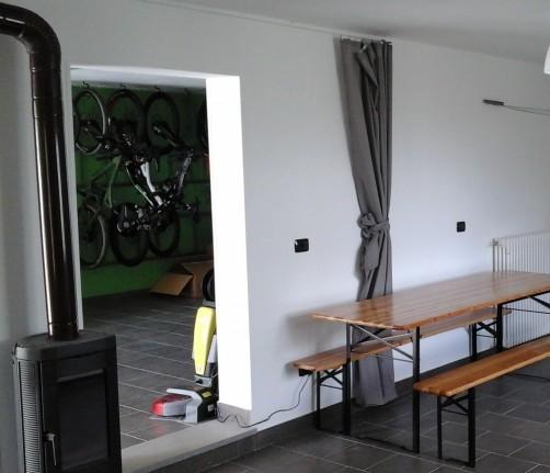 Room & Breakfast Tolasudolsa, one of the first bike hotels in Italy