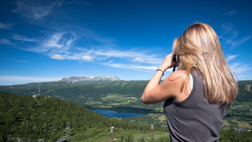 Geilo, mountain village in southern Norway