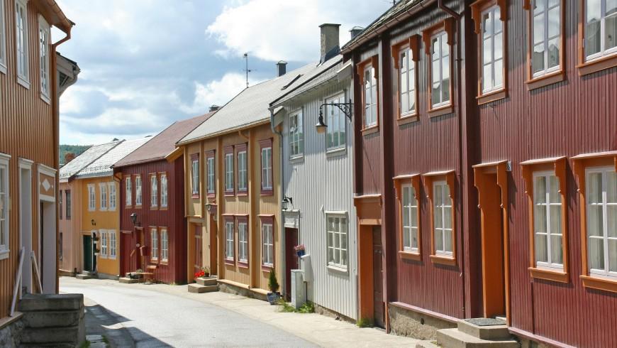Røros, UNESCO heritage of Norway