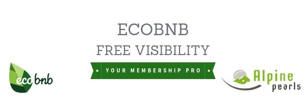 Cooperation Ecobnb Alpine Pearls